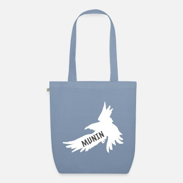 Wotan Hugin and Munin Raven Odin's Partner Look - Organic Tote Bag