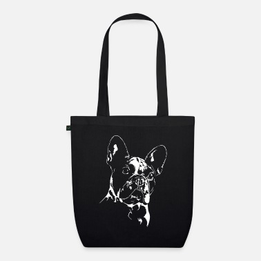 French FRENCH BULLDOGGE - FRENCH BULLDOG - Organic Tote Bag