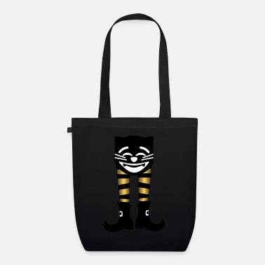 Super Design Tags Design PUSS IN BOOTS - Organic Tote Bag