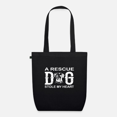 Rescue A rescue dog stole my heart - Organic Tote Bag