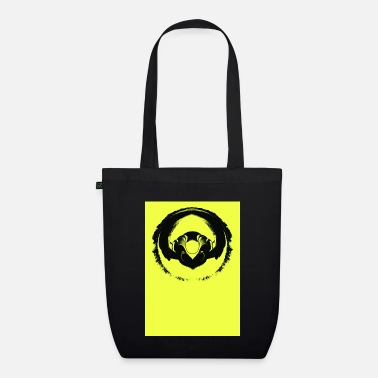 Contract But Art Headphone Twist - Organic Tote Bag