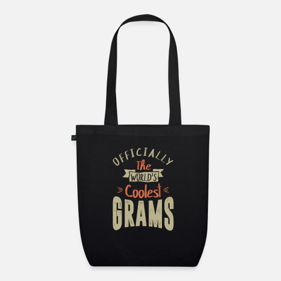Meme Bags & Backpacks - World's Coolest Grams - Organic Tote Bag black