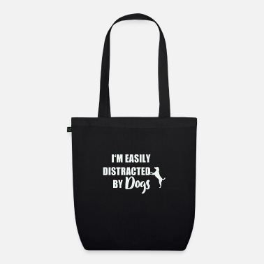 Obedience I'm easily distracted by dogs - Organic Tote Bag