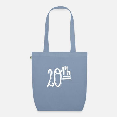 20th 20th - Organic Tote Bag