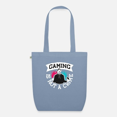 Gaming is not a Crime - Organic Tote Bag