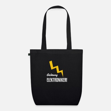 Electronics Technician Electronics technician work craftsman - Organic Tote Bag