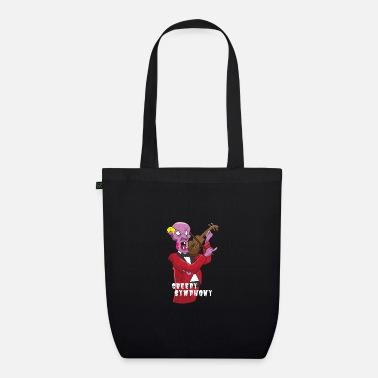 Zombie violinist - Organic Tote Bag