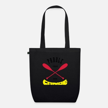 Paddle Paddle Your Own Canoe - Organic Tote Bag