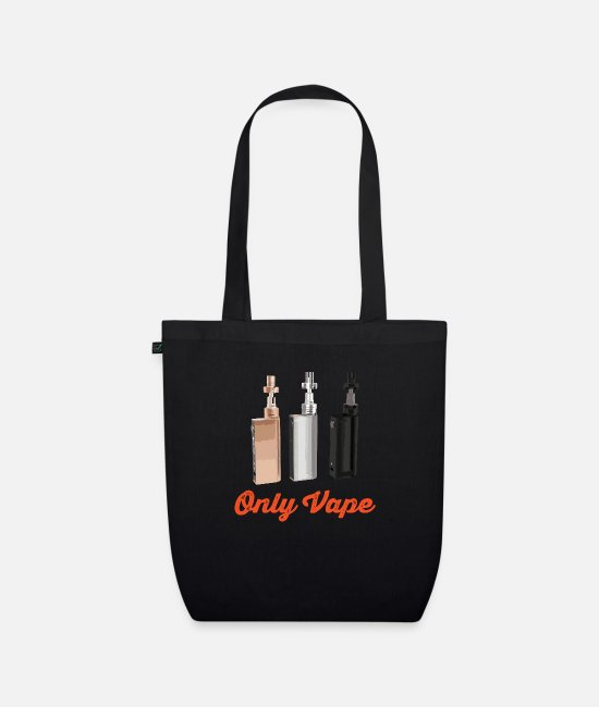 Vaping Bags & Backpacks - VAPE ONLY - Organic Tote Bag black