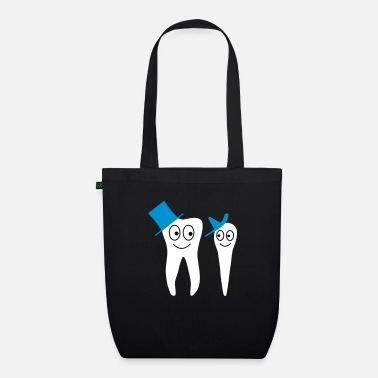Tooth tooth - Organic Tote Bag