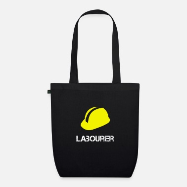 Labour construction worker - Organic Tote Bag