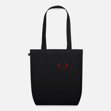 Love heart chest - Organic Tote Bag