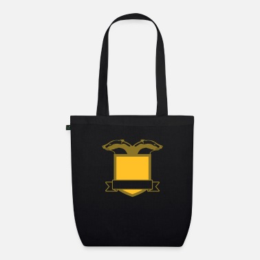 Badger Shield Crest - Organic Tote Bag