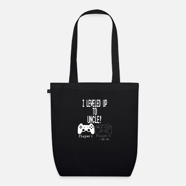 New I leveled up to Uncle new uncle gaming T Shirt - Organic Tote Bag