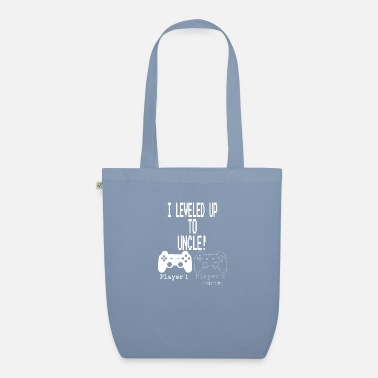 Uncle I leveled up to Uncle new uncle gaming T Shirt - Organic Tote Bag