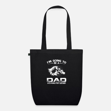 Soon To Be Promoted Dad Again Est 2020 - Organic Tote Bag