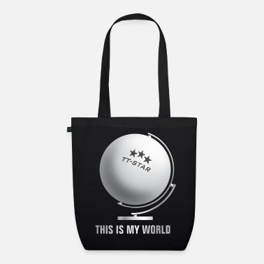 Table Tennis Paddle globe_world_sport_122013_tt_b - Organic Tote Bag