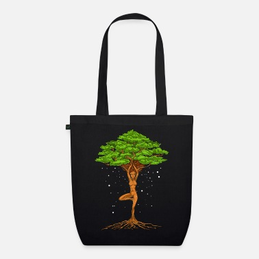 Tree Zen Yoga Tree Of Life - Organic Tote Bag
