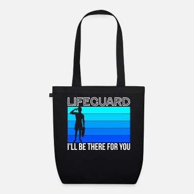 Outdoor Swimming Pool Swimmer Pool Boy Lifeguard Lifeguard - Organic Tote Bag