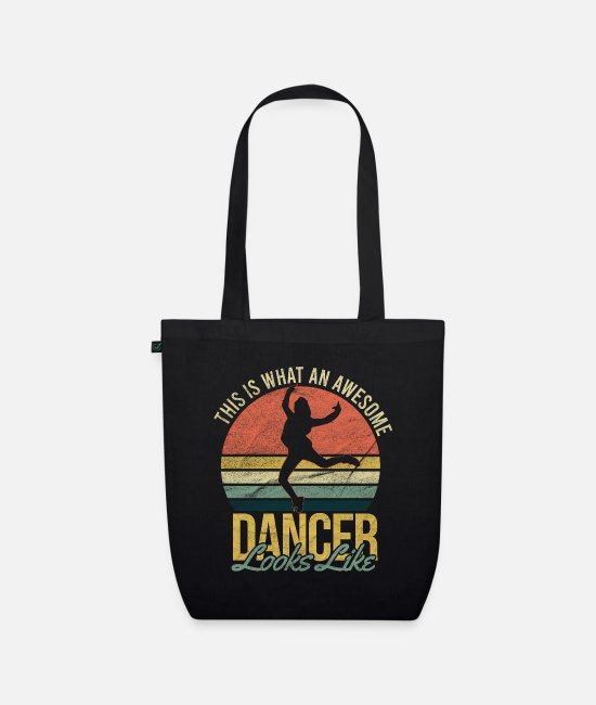 Movie Bags & Backpacks - Dancing - Organic Tote Bag black