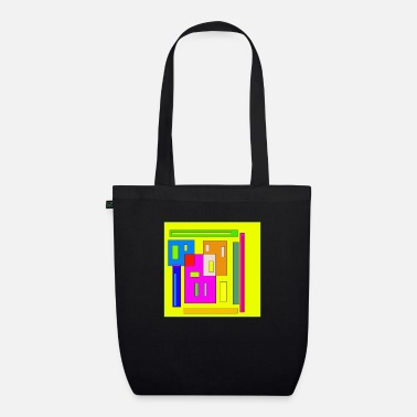 Rectangle Rectangles - Organic Tote Bag