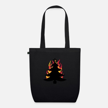 Fun burning tree - Organic Tote Bag