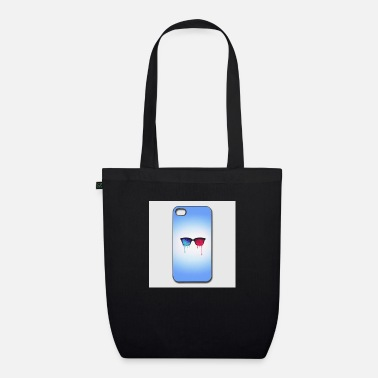Iphone-44s 3d psychedelic goa meditation glasses iphone 44s h - Organic Tote Bag