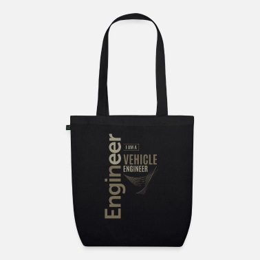 Vehicle Vehicle Engineer - Organic Tote Bag