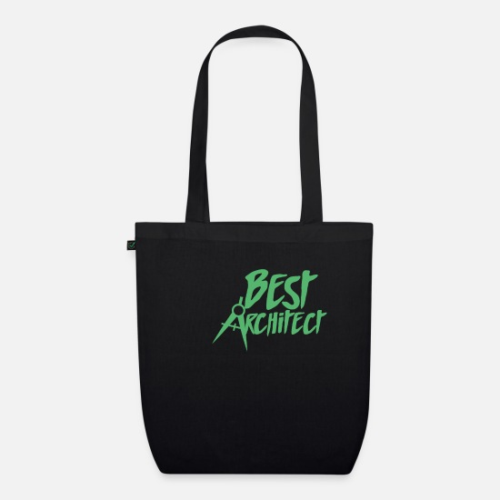 Gift Idea Bags & Backpacks - architect - Organic Tote Bag black