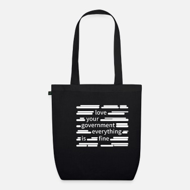Government Censorship government - Organic Tote Bag