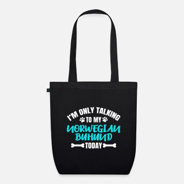 Dog Owner Norwegian Buhund - Organic Tote Bag