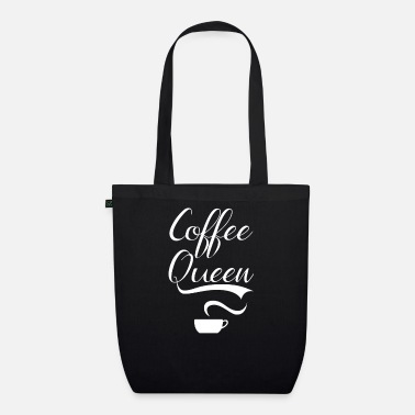 Queen Of Shopping Coffee Queen - Organic Tote Bag