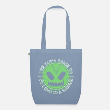 Undaunted Mother of a Toddler Undaunted Mama Pumpkin - Organic Tote Bag