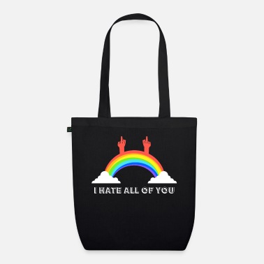 Fuck I hate you all - Organic Tote Bag