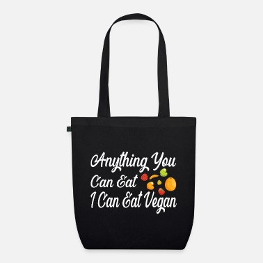 Eco Vegetarian vegan - Organic Tote Bag