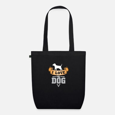 I love my dog - Organic Tote Bag