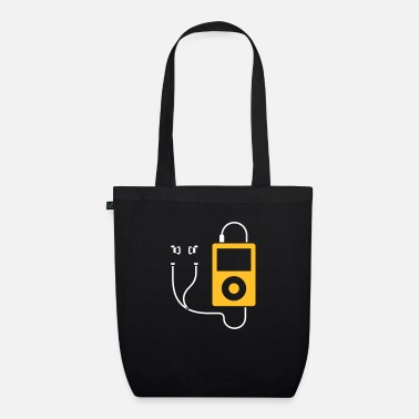 Mp3 / MP3 Player - Organic Tote Bag