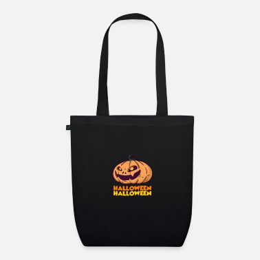 Halloween Witch Halloween horror witches broom costume - Organic Tote Bag