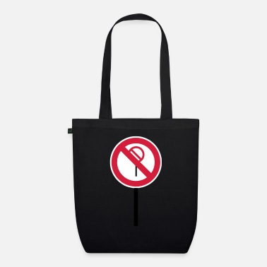 Prohibited Sign Prohibitions prohibited - Organic Tote Bag