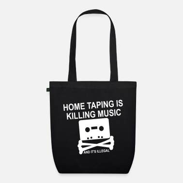 Personalize: Home Taping - Organic Tote Bag