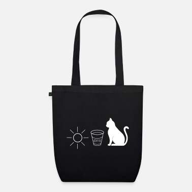 Sun Sun coffee cat gift idea - Organic Tote Bag