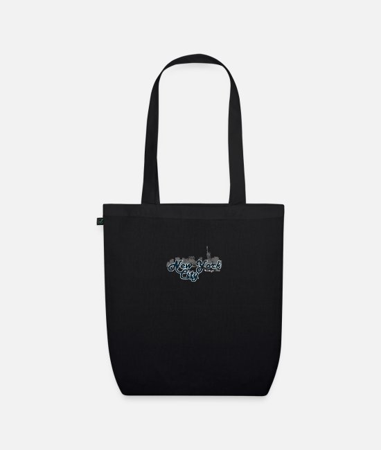 New York City Bags & Backpacks - New York City Vintage - Organic Tote Bag black