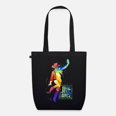 Country Line Dance Cowboy Music - Sac en tissu bio