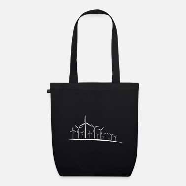 Wind wind energy - Organic Tote Bag