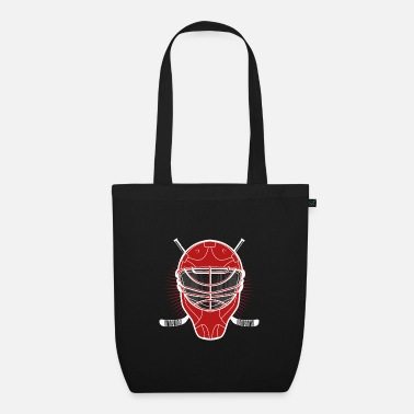 Ice Hockey Mask Ice hockey mask - Organic Tote Bag