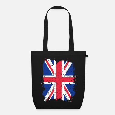 Uk UK UK flag - Organic Tote Bag