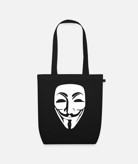 Acta Bags & Backpacks - Anonymous - Organic Tote Bag black