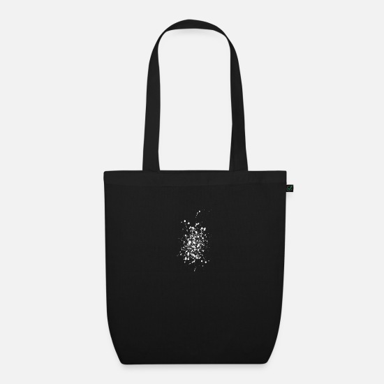 Colour Bags & Backpacks - splashes - Organic Tote Bag black