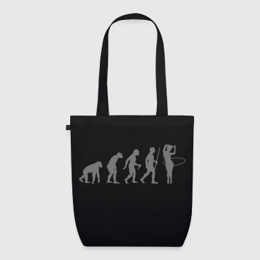 Evolution Hula Hoop - EarthPositive Tote Bag