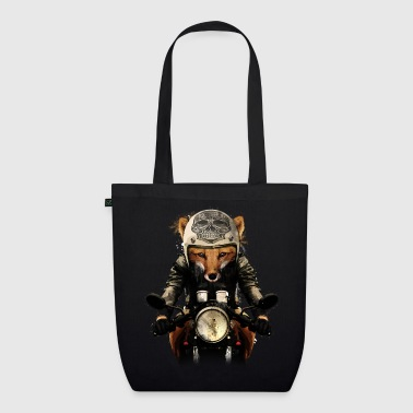 Fox Biker - EarthPositive Tote Bag